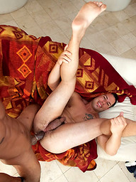 This huge cock has this hot young guy screaming in pain!