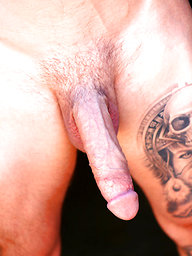 Big Dick Tatted Stud John Murphy Jerks Off